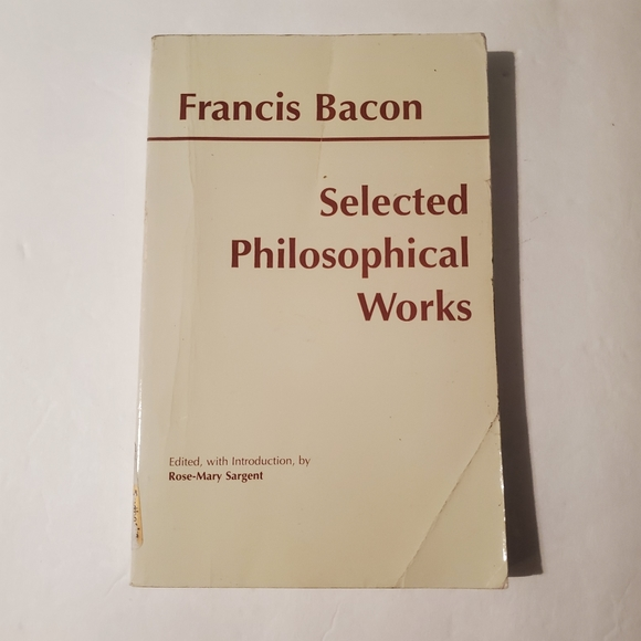 Vintage Other - Selected Philosophical Works of Francis Bacon Book